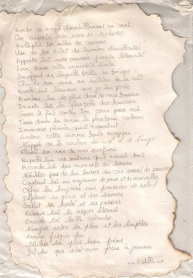Poème Didiè A Mon Frère